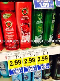 Kroger: Herbal Essences Shampoo o Acondicionador a sólo $0.49   http://www.cuponesparanosotras.com/2014/06/kroger-herbal-essences-shampoo-o.html