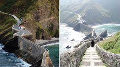 San Juan Gaztelugatxe in Spain - Next Trip Tourism Spain Tourism, Cool Watches, Around The Worlds, Museum, Mountains, Travel, San Juan, Viajes, Destinations