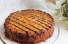 Торт «Шоколадная девочка», рецепт с фото.