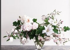 Perfection! beautifully muted pinks, whites and greens. modern, clean, romantic yet whimsical.