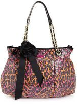 My Betsey Johnson purse!!! I get so many compliments on it!!! I freaking love it ;)