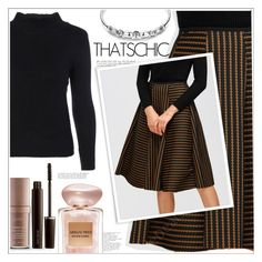 """""""That's Chic"""" by mycherryblossom ❤ liked on Polyvore featuring Laura Mercier and Giorgio Armani"""