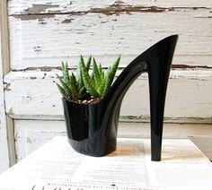Dominatrix shoes ! #Plant, #Shoe