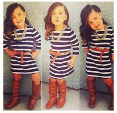 Cute Fall Girls Dresses Little Girls Cute Outfits