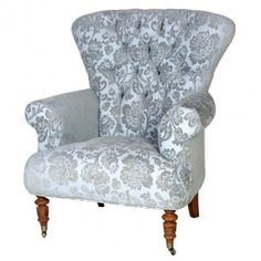 Blue Chatsworth Armchair £575