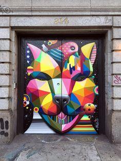 Okudart, el street artist más colorido (Yosfot blog)