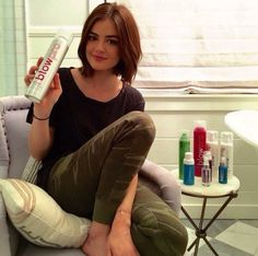 Lucy Hale - @lucyhale: A few of my faves ❤️ @blowpro_hair