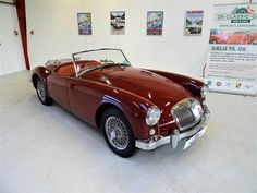 1957 MG MGA 1500 Roadster     The car is imported from the United States. The former owner got the car in 2002 and the car was mechanically and cosmetically restored in 2005, including galvanized chassis, stainless steel gas tank and exhaust and new soft top and Tonneau cover. The car passed Danish inspection in 2013 and will not have to be inspected until 2021.  - K265 Garage Addition, Tonneau Cover, Car Ins, Trailers, Danish, Cars For Sale, Classic Cars, Restoration, United States