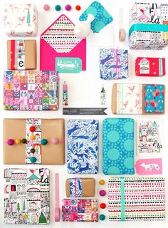 paperandcloth: P&C xmas giftwrap launched in new notonthehighstreet store