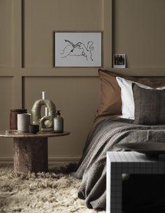 Home Interior Velas Interior House Colors, Decor Interior Design, Minimalist Bedroom, Modern Bedroom, Large Bedroom, Home Decor Bedroom, Room Decor, Bedroom Ideas, Scandinavian Interior Bedroom