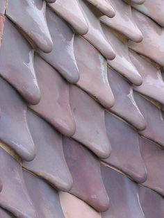 una textura bastante interesante en mi opinion ya que da la sensación de que se esta derritiendo  Gaudi, Casa Batlló.Barcelona.