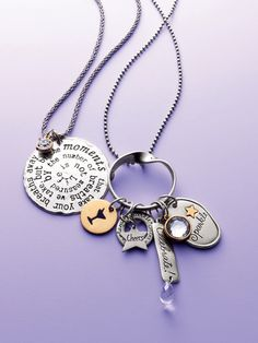 For Her: Pendant & charm necklaces @Chico's