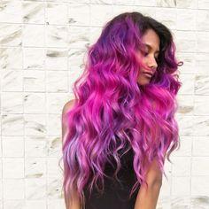 "Vegan + Cruelty-Free Color on Instagram: "" Purple, Pink and Violet Vibes @deescissorhands Recreate with Purple Rain, Violet Dream, Virgin Pink, and Girls Night. #vividcolors"""