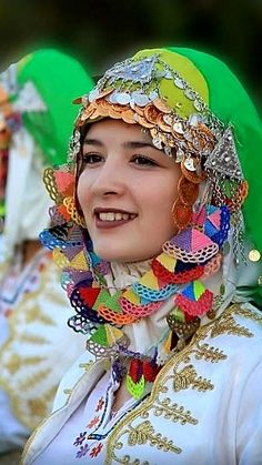 Turkey - girl in traditional costume
