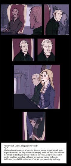Okay. I usually despise Lucius, but this is adorable and I totally ship it.