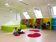School Design | Educational Spaces | Escuela Ordrup / Ordrup School - Archkids. Arquitectura para niños. Architecture for kids. Architecture for children.