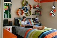 habitaciones pequeñas juveniles para chicos