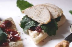 Copycat Panera Turkey-Cranberry Flatbread Sandwich. Thanksgiving reinvented into a perfect sandwich!