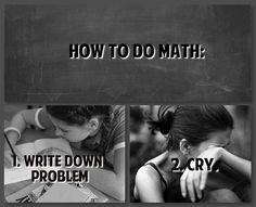 Exactly how I do it...