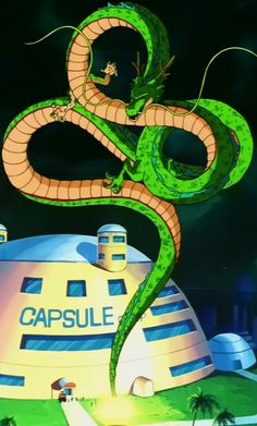 Shenron at Capsule Corp.