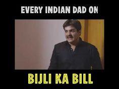 EVERY INDIAN DAD ON BIJLI KA BILL    2019 - Amazing Videos - YouTube Places To Visit, Dads, Indian, Videos, Amazing, Youtube, Fathers, Youtubers, Youtube Movies