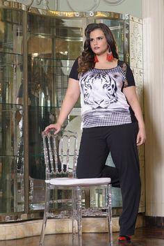 Coleção Outono Inverno PROGRAM PLUS - Moda feminina plus size. Acesse: http://programmoda.com.br