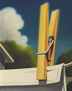 Pincer, sentir un pincement avec un objet ou les doigts - Significations & Interprétations de rêves - tableau ©Kenton Nelson - 1954-... Outdoor Decor, Painting, Sketches, Dream Interpretation, Fingers, Board, Painting Art, Paintings, Draw