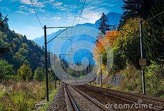 Railroad to the mountains.