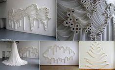 Toiletpaper art