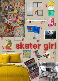 Skater Room On Pinterest Boy Rooms Skater Girls And Room Ideas