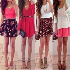 Spring Outifts: Comment Your favorite and check out my page♡