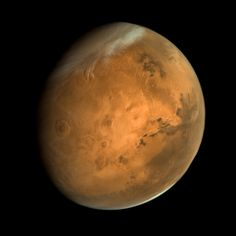Mars - October 4 2015 | Applied tone, contrast, & sharpening adjustments.  ISRO/ISSDC/Kevin M. Gill