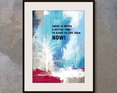 A3 Inspirational poster. office wall decor by inspiring4U on Etsy