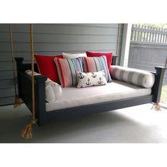 Custom Carolina Hanging Beds Southern Savannah Porch Swing