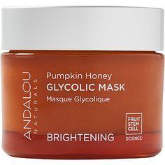 Andalou Naturals Pumpkin Honey Glycolic Mask -- fav. of Melanie's