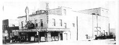The original Blaine Theater at the intersection of Third and Main ~ The place we went to watch movies as a kid ~ Tresa Horner