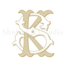 Antique Monogram Design KS SK Antique Monogram by ShulerStudio Letter Art Design, Monogram Design, Name Wallpaper, Scenery Wallpaper, Floral Letters, Monogram Letters, Lettering Styles, Lettering Design, K Letter Images