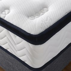 Pure natural latex mattress pillow top thickness premium knitted fabric pocket spring all sizes available sleep for bed Latex Mattress, Comfort Mattress, Pillow Top Mattress, Natural Latex, Home Living Room, Knitted Fabric, Sleep, Pure Products, Pocket