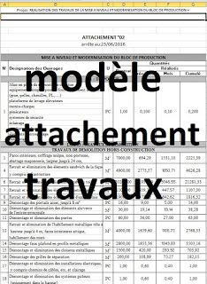 2 Exemples de modèle attachement travaux en excel 2 exemples d'attachements chantier en format excel à télécharger gratuitement, ils concernent un projet de construction en Algérie.  #suivi #travaux #chantier #gestionchantier #geniecivil #btp