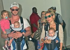 Elsa PatakyandChris Hemsworthhave the cutest family, ever! We put together a little family album of some of their best moments — take a look: RELATED: 11 Celebrities (Including Elsa Pataky) Who Are Parents to Twins This story was originally published on May 17, 2016.