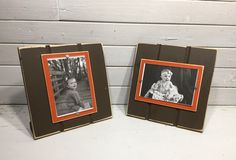 Red and White picture frame holds 5x7 or 8x10 Stanford University colors