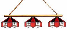 Arizona Diamondbacks 3pc Swag Glass Billiard/Pool Table Light/Lamp