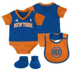 NBA NY Knicks 3 Piece Baby Layette Set