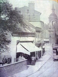 Grimsby - Bethlehem St looking towards Corn Exchange - st James Church is on left Old Pictures, Old Photos, Old Street, Local History, Old Buildings, The Past, England, Memories, In This Moment