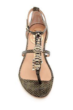 Fierce sandals!