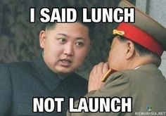 A roundup of funny memes and captioned pictures poking fun at North Korean leader Kim Jong-un. Most Hilarious Memes, Funny Texts, Funny Jokes, It's Funny, Nerd Jokes, Funny Food, Funniest Memes, Sarcastic Humor, Stupid Memes