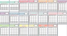 Year Curriculum planning printables!! THESE ARE FREE AND SO FREAKING CUTE!!!