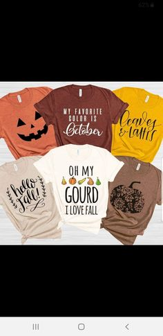 Circuit Projects, Vinyl Projects, Autumn T Shirts, Vinyl Shirts, Silhouette Cameo Projects, Cricut Creations, Cute Tshirts, Diy Shirt, Personalized T Shirts
