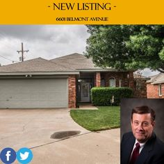 *NEW LISTING* 6601 Belmont Avenue. 3/2. Price: $153,000. For more information, call (806) 793-8111. http://www.c21lubbockrealestate.com/property/tx/lubbock/79424/-/6601-belmont-ave/555e566b0378156f9c000094/ #HomesForSale #Lubbock #RealEstate