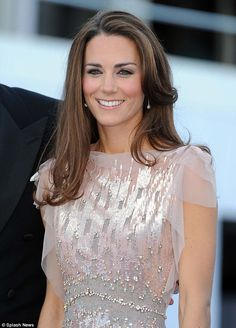 The Duchess of Cambridge wore it on 9th June 2011 to attend the ARK Gala dinner in London.